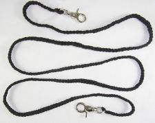 Buy Falconry Braided Special 2 metre leash with 10 braided Paracord leash TWO METRES