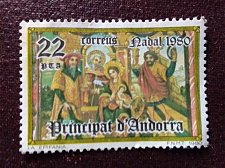 Buy Andorra Spanish 1980 1v used stamp Mi137 Scenes from the Bible