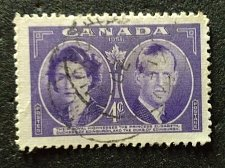 Buy Canada Used stamp 1v #315 - Duchess and Duke of Edinburgh