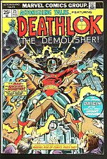 Buy Astonishing Tales #25 DEATHLOK Fine Origin KEY 1st appearance! 1974 Buckler