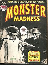 Buy MONSTER MADNESS #3 Marvel Comics In Time for Halloween 1973 by Sinister Stan Lee