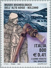 Buy Italy Artistic Heritage 1v stamp South Tyrolean Archaeological Museum, Bolzano