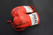 Buy Autographed Mini Boxing Gloves Ingemar Johanson