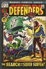 Buy DEFENDERS #2 Marvel Comics 1972 Bronze Age Hulk Silver Surfer Sub-Mariner 1stPnt