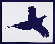 Buy Pheasant Stencil -Large-Flying-14 Mil Mylar- Painting/Crafts/Template
