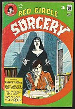 Buy Red Circle Sorcery #6 Gray Morrow, Alcazak,Chaykin, Pino 1974 VG+/Fine range