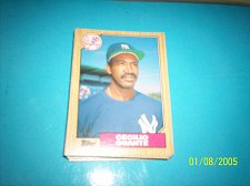 Buy 1987 Topps Traded Baseball CECILIO GUANTE YANKEES #40T FREE SHIPPING
