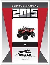 Buy 2015 Arctic Cat XR ATV Service Repair Workshop Manual CD