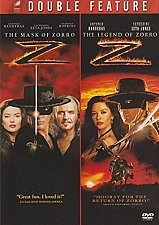 Buy 2movie color DVD The Mask of Zorro & The Legend of Zorro Catherine Zeta Jones