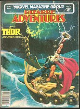 Buy THOR Bizarre Adventures #32 Marvel Comics STRIKING ART B&W 1982 Other Material