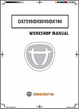 Buy Kioti DX7510 DX9010 DX100 Repair Service Workshop Manual CD - DX 7510 9010 100