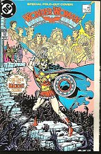 Buy WONDER WOMAN #10 George Perez NM DC Comics 1988 Wein Patterson Fold Out Cover