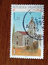 Buy Croatia USED Stamp1995 Mi358 Croatian Towns DRNIS
