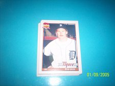 Buy 1991 Topps Traded rob deer tigers #30T mint free ship