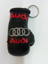Buy Audi mini Boxing glove KEYRING with Red Audi