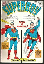 Buy Superboy #119 Fine or better DC COMICS 1965 Silver Age