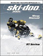 Buy 2005 Ski-Doo RT Snowmobiles Service Repair Shop Manual CD - SkiDoo Mach Z Summit