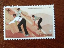 Buy Antigua and Barbuda 1977 Stamp Scouts mountain climbing