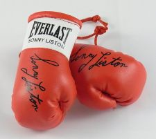 Buy Autographed Mini Boxing Gloves Sonny Liston