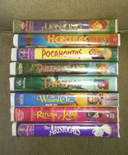 Buy (8) Disney VHS Movies