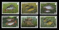 Buy Jersey 2010 MNH Nature Stamps Freshwater Fish Set of 6 Stamps