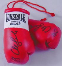 Buy Autographed Mini Boxing Gloves James DeGale