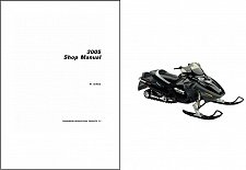 Buy 2005 Ski-Doo RT Series ( Mach Z Summit Highmark X ) Service Manual on a CD