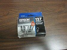 Buy Epson 127 XL black ink = Stylus NX530 NX625 WorkForce 60 all in one printer