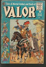 Buy VALOR #4 EC COMICS 1st print & series 1955 WOOD Crandall Kriegstein Orlando