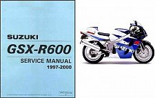 Buy 97-00 Suzuki GSX-R600 SRAD Service Repair Manual CD --- GSXR600 GSXR 600 GSX R