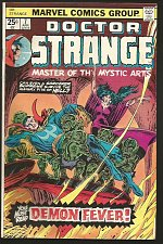 Buy Dr. Strange #7 Marvel Comics GENE COLAN, JOHN ROMITA 1975 Very Fine or better