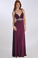 Buy Women Formal Dress SIZE 18 Hand Beaded Evening Bridal Prom Bridesmaids