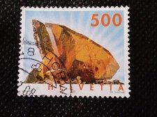 Buy Switzerland 1V USED STAMP 2005 Mi1809 Minerals- Titanite