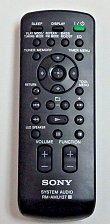 Buy Sony remote control RM AMU137 - RDH GTK33iP GTK11iP FST GTK11iP GTK33iP G Tank