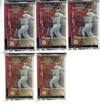 Buy 5 new baseball PACKs - 1999 UPPER DECK MVP game used jersey souvenirs autographs