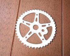 Buy NOS 44t Chainring for 1 Plece crank sprocket Old school BMX Haro GT