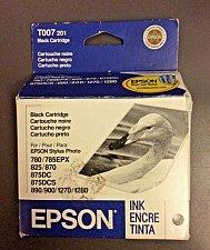 Buy genuine Epson T007 201 BLACK ink cartridge stylus photo printer 780 785EPX 825