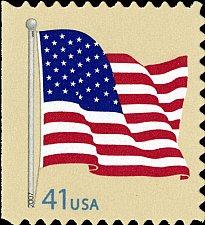 Buy 2007 41c American Flag, Regular Issue Scott 4190 Mint F/VF NH