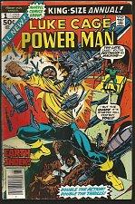 Buy POWER MAN (Luke Cage) ANNUAL #1 Marvel Comics 1976 Punisher Cameo