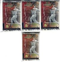 Buy 4 new baseball PACKs - 1999 UPPER DECK MVP game used jersey souvenirs autographs