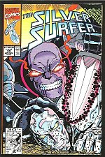 Buy Silver Surfer #59 INFINITY GAUNTLET CROSSOVER VF/+THANOS GUARDIANS OF THE GALAXY