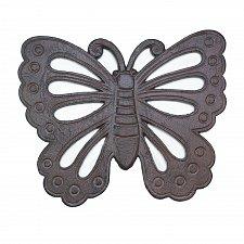Buy *17199U - Weathered Butterfly Cast Iron Garden Stepping Stone Yard Art