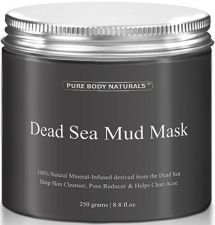 Buy Pure Body Naturals Beauty Dead Sea Mud Mask For Facial Treatment, 250g / 8.8