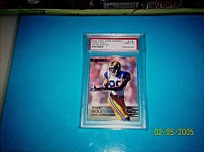 Buy 2000 COLL. EDGE UNCIRCULATED #136 PSA GEM MT 9 GRADE TORRY HOLT PSA GRADED