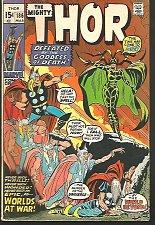Buy THOR #186 Marvel Comics March 1971 John Buscema, Joe Sinnott, Stan Lee HELA Fine