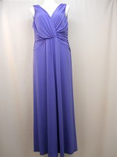 Buy Womens Formal Evening Bridesmaid Dress Size 20W Sangria Maxi Sleeveless Blue
