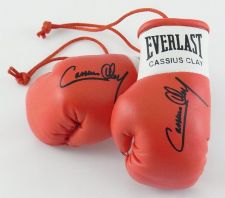 Buy Autographed Mini Boxing Gloves Cassius Clay (highly collectable)