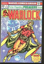 Buy WARLOCK #9 Jim Starlin returns Magus, Gamora 1st print GUARDIANS OF THE GALAXY