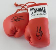Buy Autographed Mini Boxing Gloves Joe Calzaghe