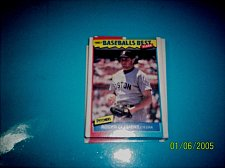 Buy 1987 Fleer Baseballs Best Sluggers Vs Pitchers ROGER CLEMENS #10